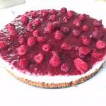 Frambozen & Bastognekoek cheesecake