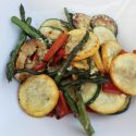 BBQ recept: gegilde groenten